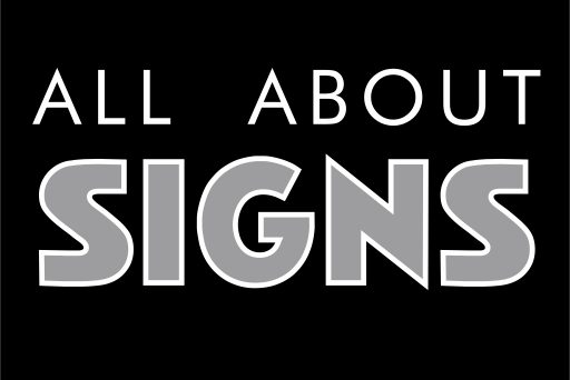 All About Signs
